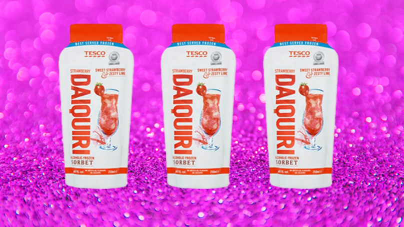 Tesco Is Selling Pre-Mixed Strawberry Daiquiri Cocktails And They're Only £1