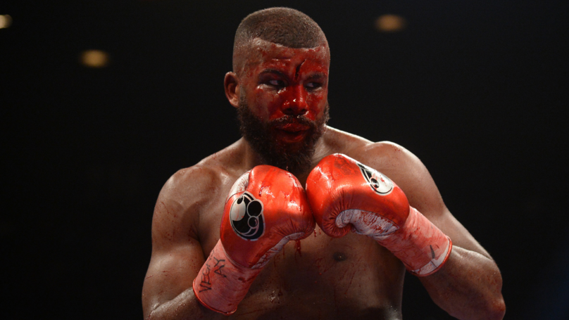 Badou Jack Suffers Horrific Cut Against Marcus Browne On Pacquiao-Broner Undercard