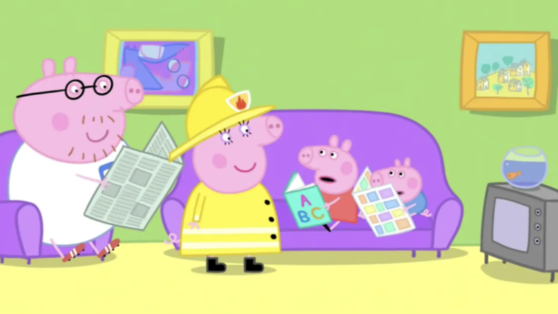 London Fire Brigade Accuse Peppa Pig Of Sexism For Using The Word 'Fireman'