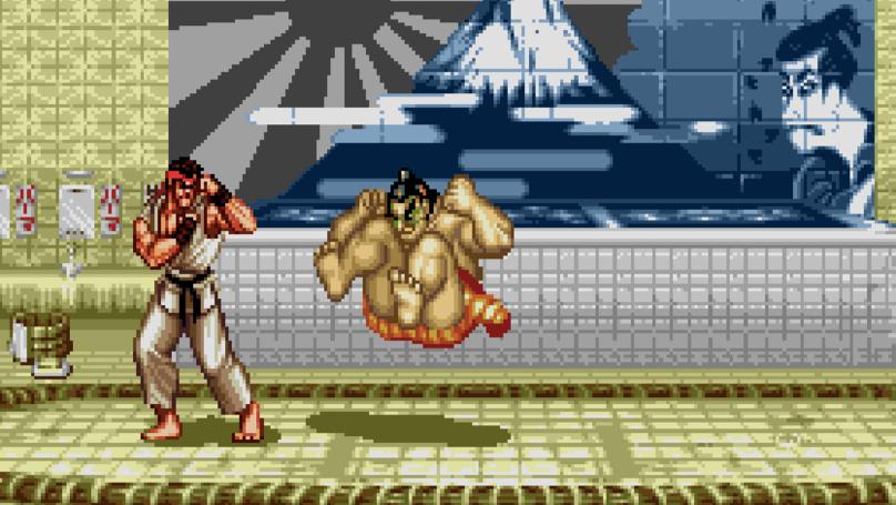 The SEGA Mega Drive Mini Confirms 'Street Fighter II' And More