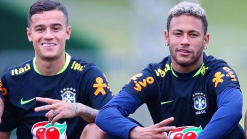 Image result for neymar, coutinho