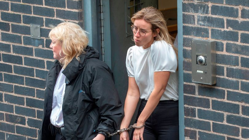 Prison Guard Who Had Sex With Inmate Cries As She Is Jailed