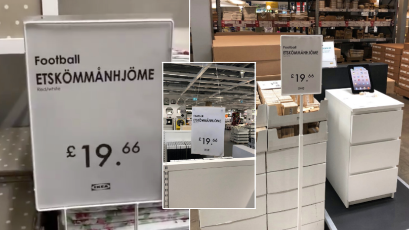 "Someone Has Gone Into IKEA And Changed All The Signs To ""Etskömmanhjöme"""