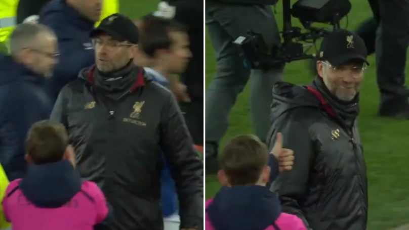 Everton Ballboy Mugs Off Liverpool Boss Jürgen Klopp At Full-Time