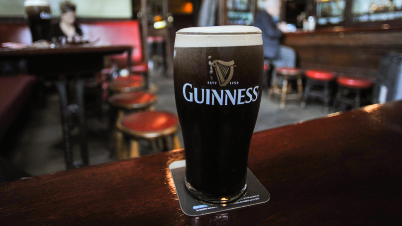 You Can Claim A Free Pint Of Guinness On St Patrick's Day
