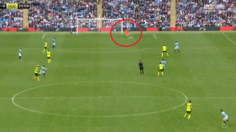Ederson Produces Incredible Goal-Kick Assist For Sergio Aguero