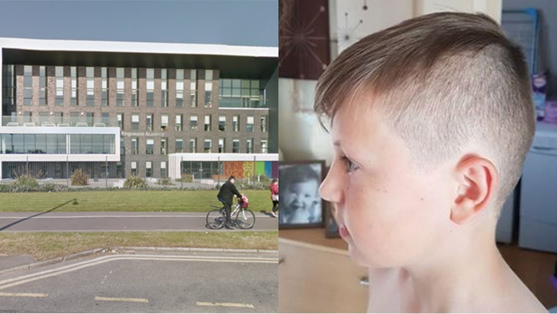 ​Boy Kicked Out Of School Over Hairstyle