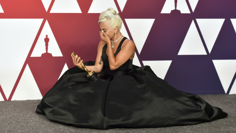 Lady Gaga Delivers Emotional Oscar Acceptance Speech After Winning Best Supporting Actress Oscar