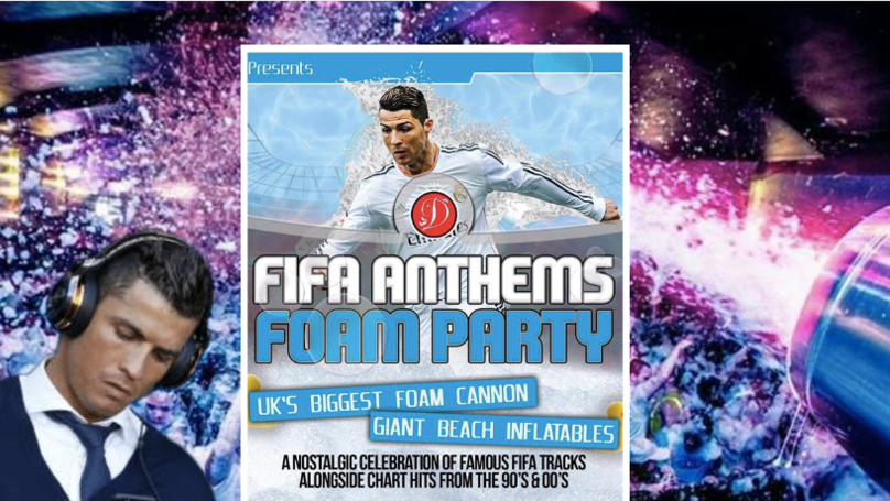 UK Nightclub To Host 'FIFA Anthems Foam Party' Featuring All The Greatest Hits