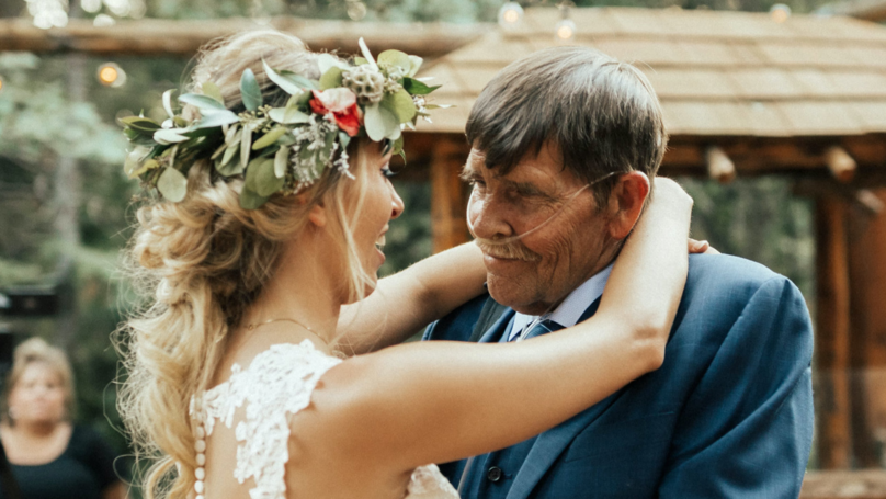 Emotional Moment Bride Dances With Terminally Ill Dad At Wedding
