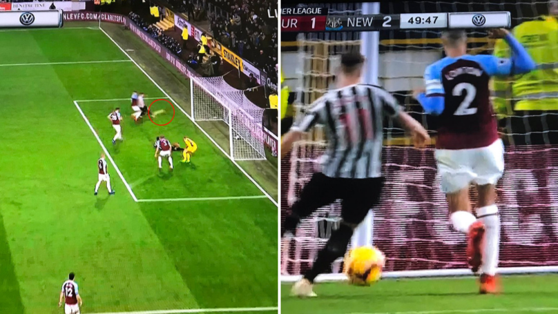 Miss Of The Season: Matt Ritchie Blasts Over From Five Yards Out Against Burnley