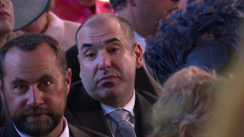 Rick Hoffman Reveals The Reason He Looked Annoyed At The Royal Wedding