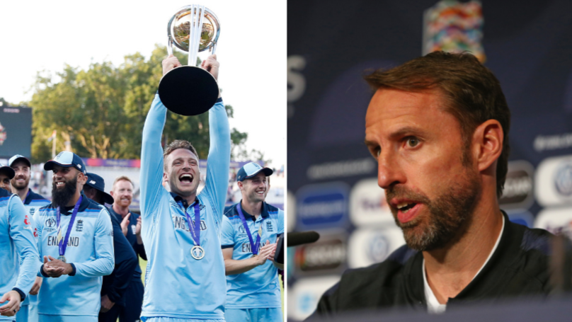 """Gareth Southgate To Ask England Cricket Stars """"How Did You Win The World Cup?"""""""
