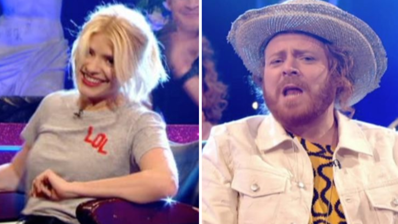 WATCH: Holly Willoughby Shocks Celebrity Juice Viewers With X-Rated Segment