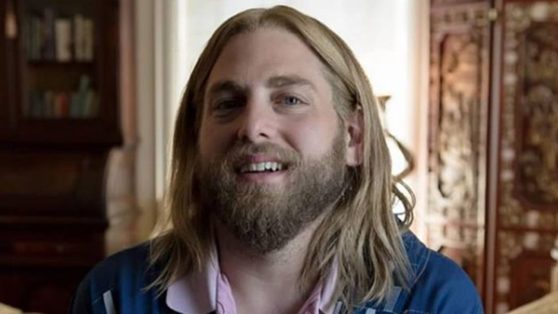 ​People Reckon Jonah Hill With Long, Blond Hair Looks Like Jesus