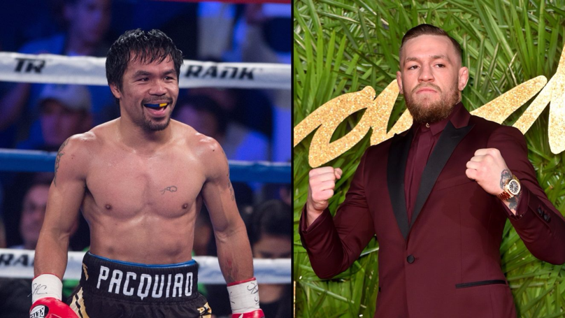 Manny Pacquiao Says He's Begun Talks With Conor McGregor For Fight