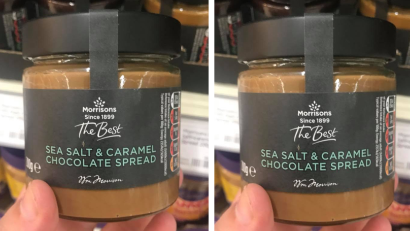 Morrisons Is Officially Selling Sea Salt And Caramel Chocolate Spread