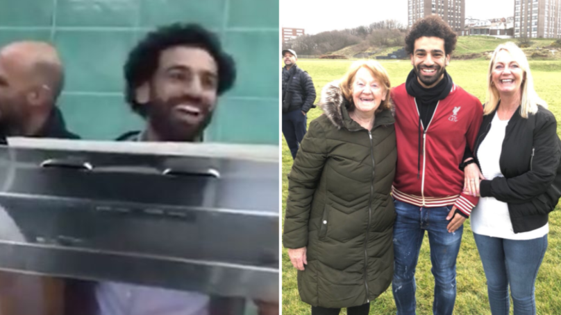 Mo Salah Delights Fans In A Chippy And Around Liverpool