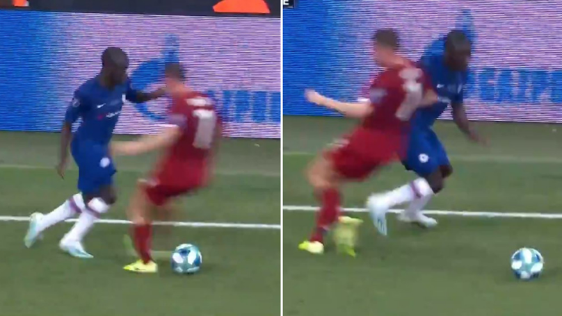 N'Golo Kante Sends James Milner Into Early Retirement With A Filthy Nutmeg