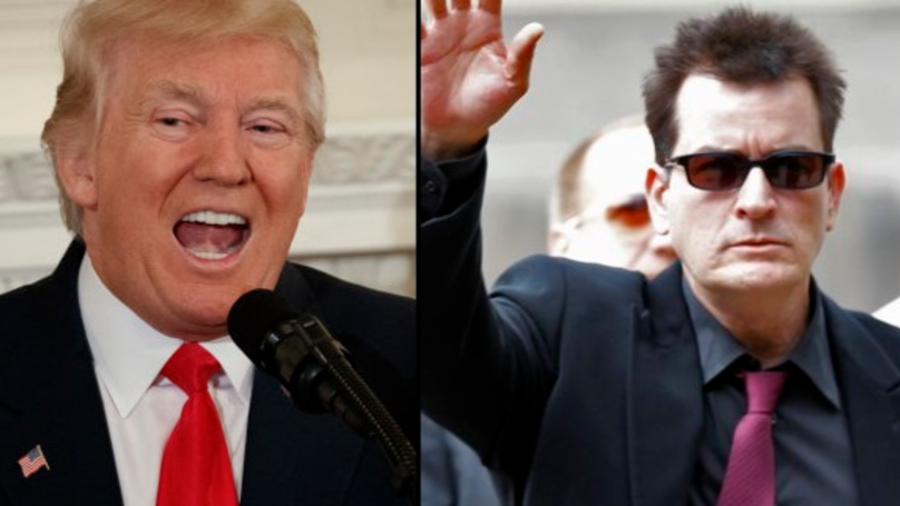 Charlie Sheen Goes Full Savage At Donald Trump In Twitter Rant