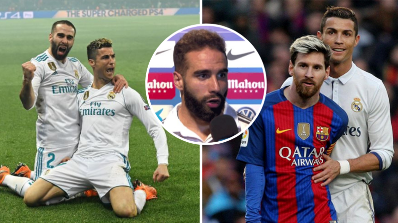 Carvajal Gave A Very Interesting Answer When Asked Who's Better Between Lionel Messi And Cristiano Ronaldo