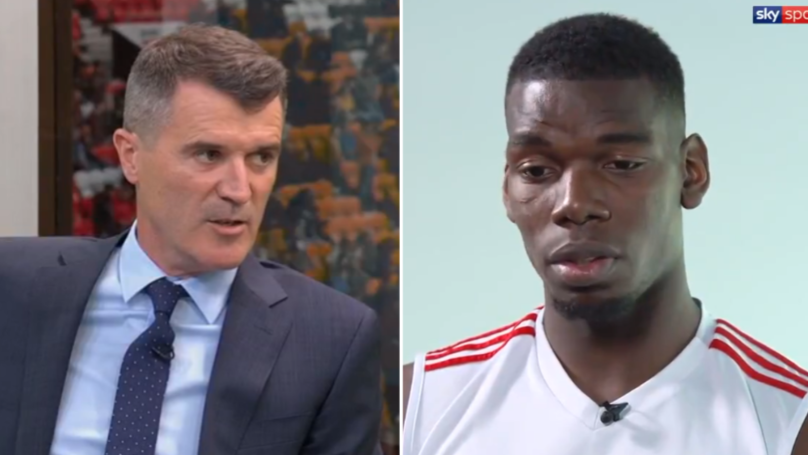 Roy Keane Savages 'Big Problem' Paul Pogba On Sky Sports Ahead Of Manchester Derby