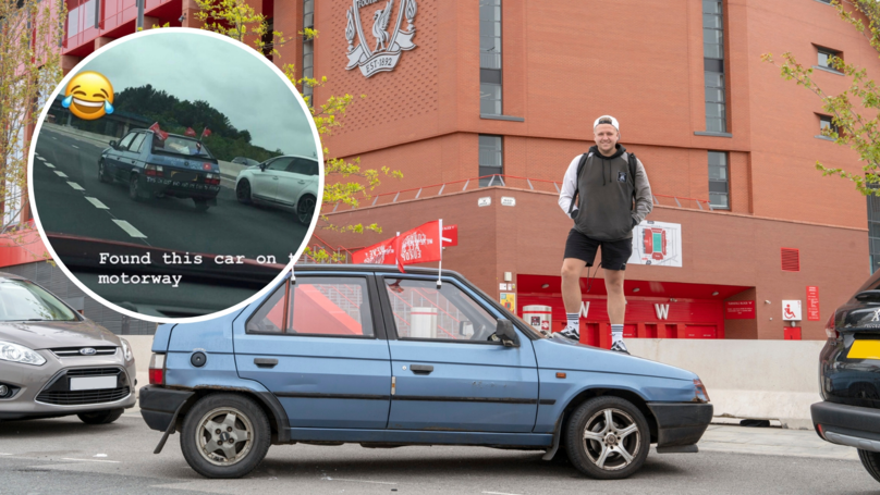 Liverpool Fan Bought A £40 Car And Is Driving To Madrid Instead Of Paying For £800 Flights