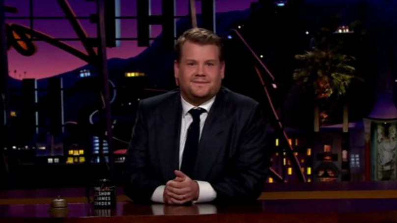 James Corden Hits Back At Troll's Disgusting Tweet