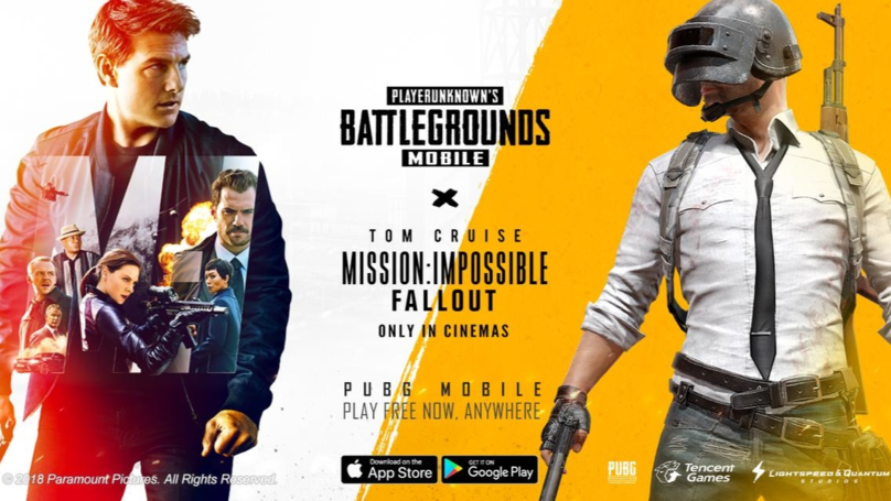 ​A Timed 'Mission: Impossible - Fallout' Theme Is Coming To PUBG Mobile This Month