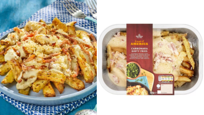 These Carbonara Dirty Fries From Morrisons Sound Delicious