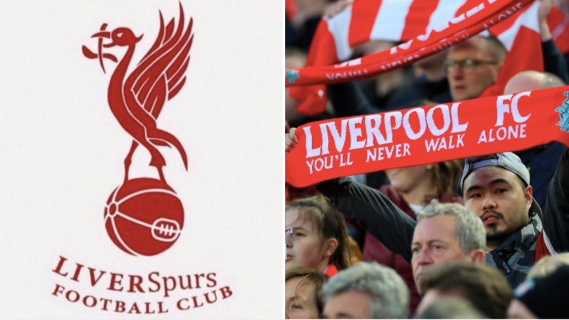 The #LiverSpurs Badge Is Being Shared By Liverpool Fans Across Social Media