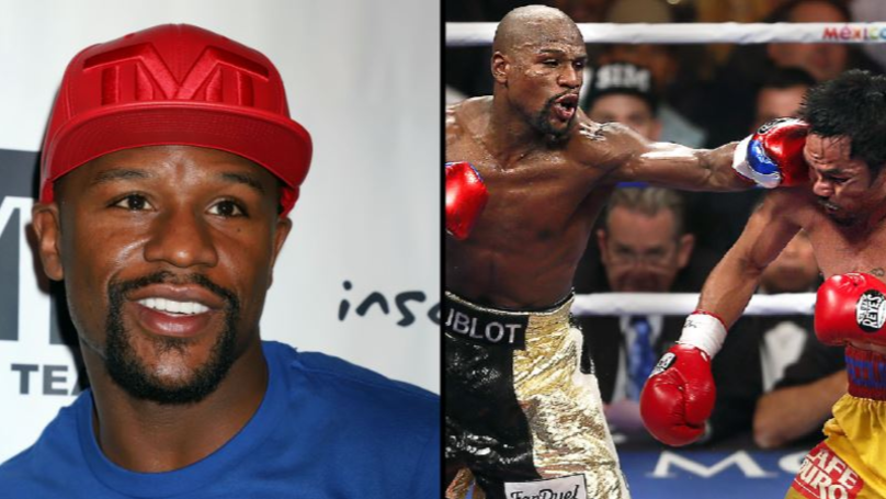 Floyd Mayweather Says He's Coming Back To Fight Manny Pacquiao In December