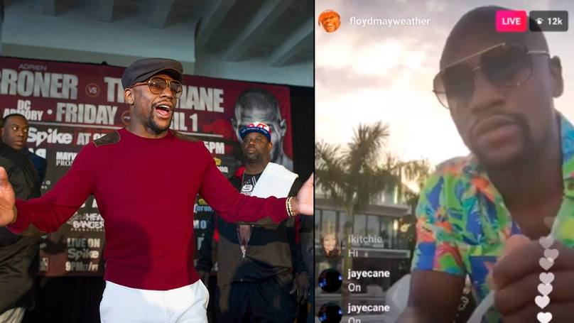 Floyd Mayweather Vows To 'Slap The Sh*t' Out Of Conor McGregor When He Sees Him