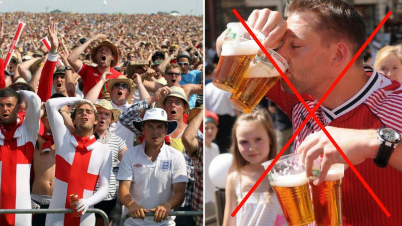 Russian Authorities Slap On World Cup Booze Ban