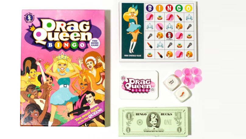 Embrace Your Inner ​Drag Queen With This Bingo Board Game