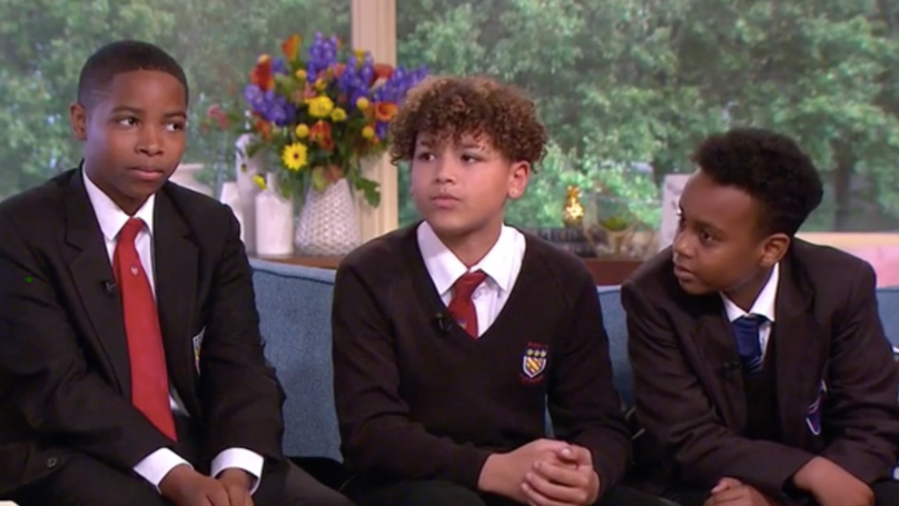 WATCH: These Heroic Schoolboys Stopped Suicidal Man From Jumping Off A Bridge