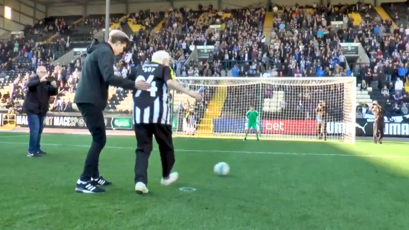 Notts County Let 94 Year Old Dementia Patient Score A Penalty