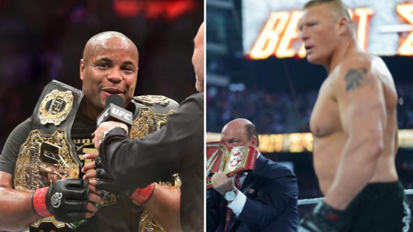 Daniel Cormier Mocks Brock Lesnar Over WWE Universal Title Loss At Wrestlemania 35