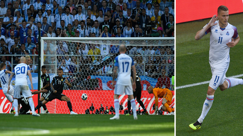 Watch: Iceland Score Their First World Cup Goal, Sparks Incredible Scenes