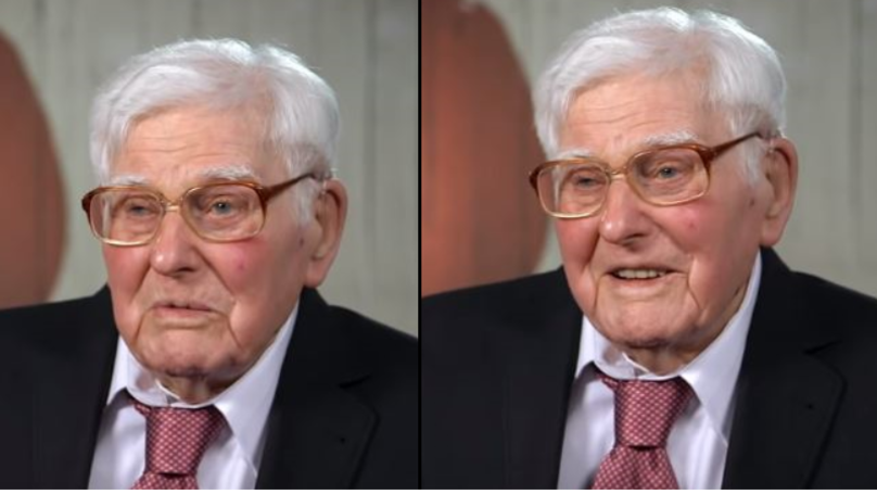 101-Year-Old Eric Wins The Hearts Of The Nation On First Dates
