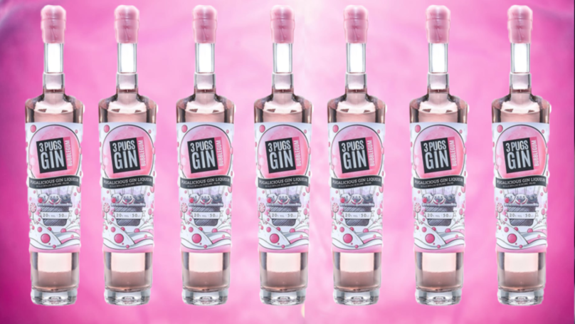Bubblegum-Flavoured Pink Gin Now Exists And It's The Perfect Tipple