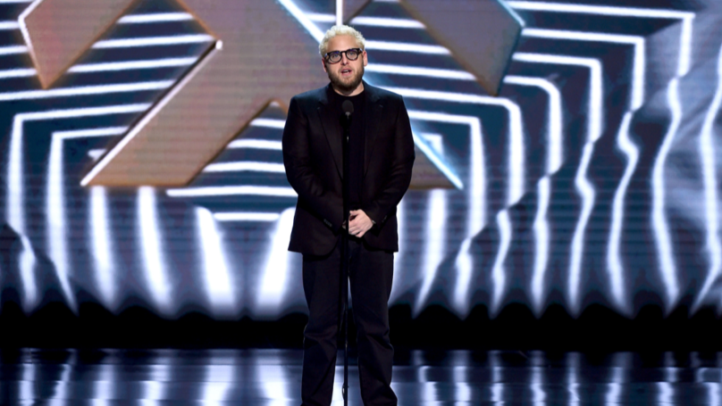 ​People Reckon Jonah Hill Is 'Stuck In Character' With New Peroxide Hair