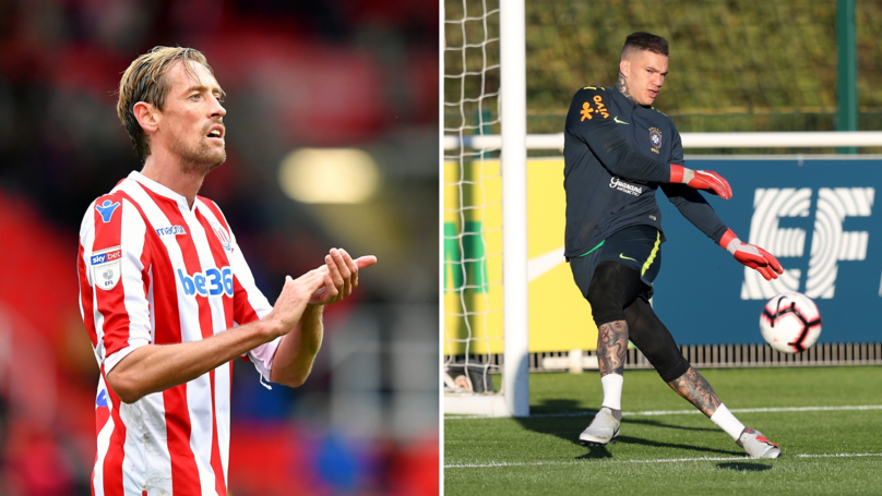 f69b6f59fe6 Peter Crouch Responds To Ederson Claiming That He Could Play In Midfield