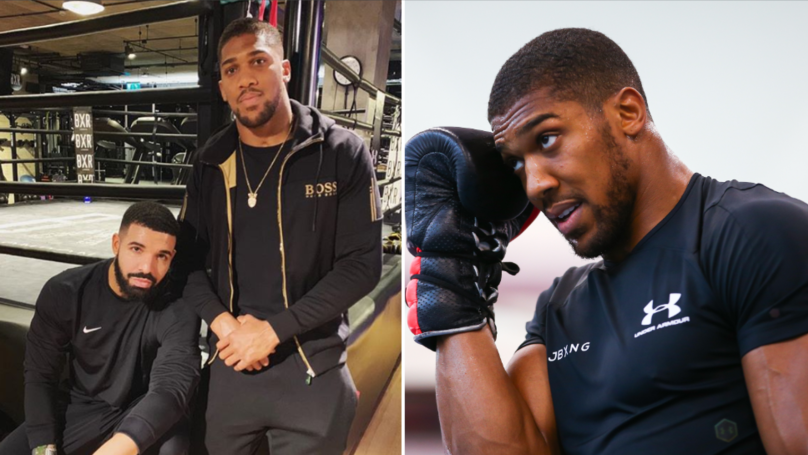 Drake Banned From Anthony Joshua's Dressing Room On Fight Night