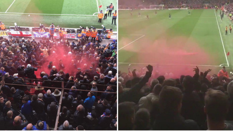 Smoke Bomb Thrown By Liverpool Fan Injured 9-Year Old Chelsea Supporter With Special Needs