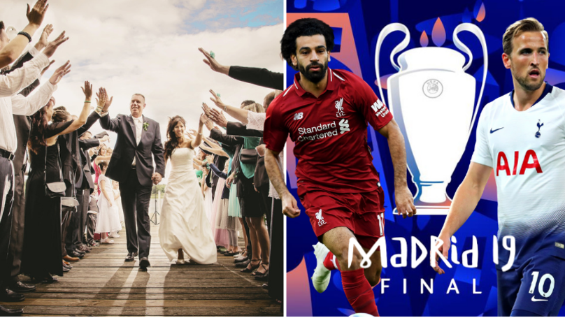 Liverpool Fan Rearranges Wedding To Watch UEFA Champions League Final 2019
