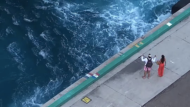Helpless Couple Watch On As Cruiseliner Leaves Them Stranded In The Bahamas