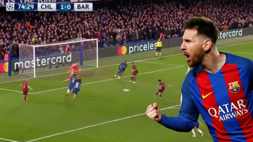 Watch: Lionel Messi Finally Breaks Chelsea Jinx