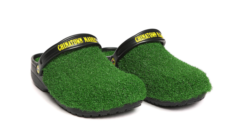You Can Now Buy Grass-Covered Crocs
