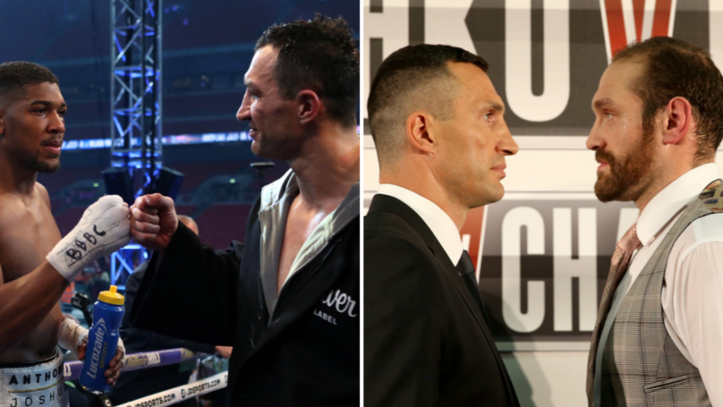 Wladimir Klitschko Gives His Tyson Fury Vs Anthony Joshua Prediction